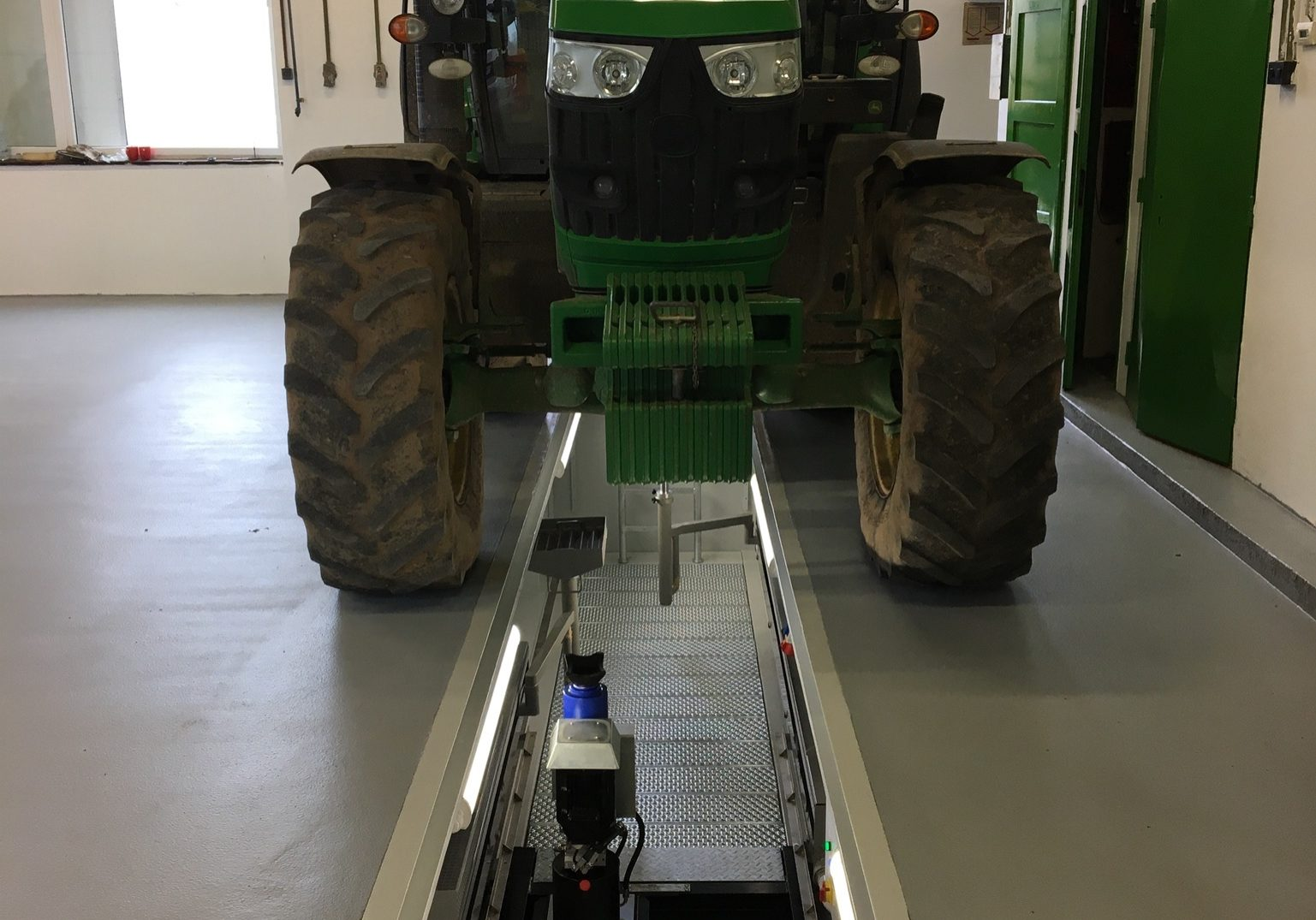 fosse tracteur